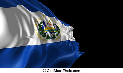 Flag of El Salvador - Beautiful 3d animation of El Salvador...