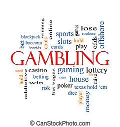 ギャンブル, 概念, 単語, 雲