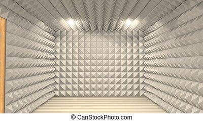 Sound proof room