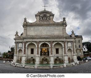 Fontana dell' Acqua Paola, Rome - Fontana dell' Acqua Paola,...