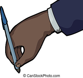 Business Person Writing