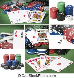 Collage de poker