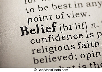 belief - Fake Dictionary, Dictionary definition of the word...