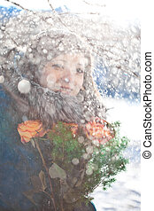 Winter woman - Beautiful winter woman