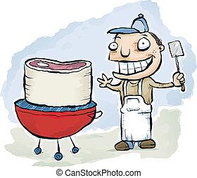 BBQ Steak Cook