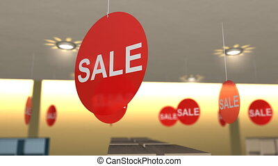 Store sales banner