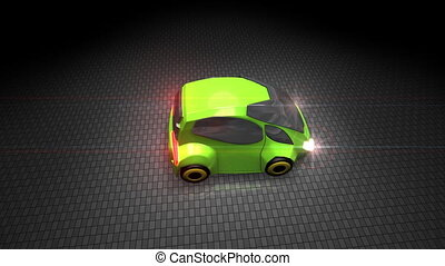 Green electric car