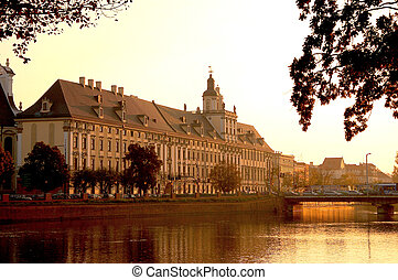 The city of Wroclaw, Poland - Wonderful city of Wroclaw