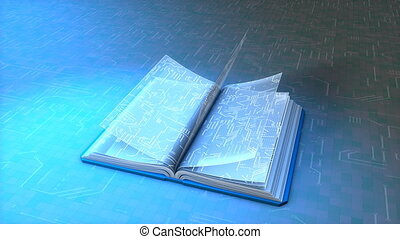 Electronic book.