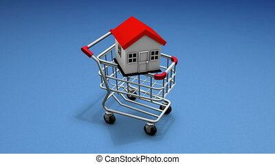 Buy house cart