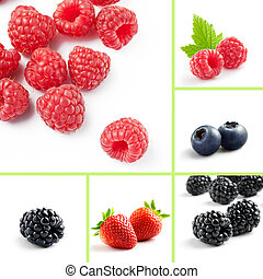 berry mix - berry theme  mix composed of different images