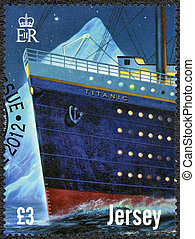 JERSEY - 2012: shows Titanic - 100 years