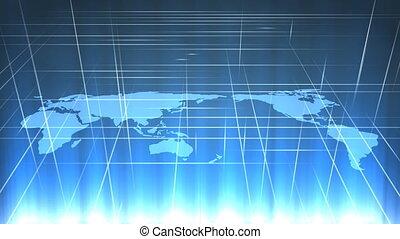 Map 3d grid.