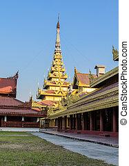 Mandalay Royal Palace, Myanmar