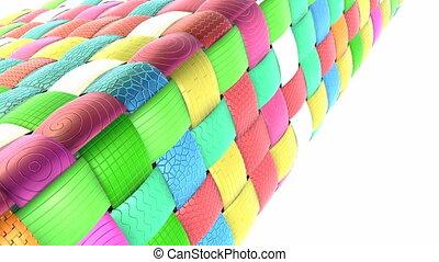 Basket grid pattern for background