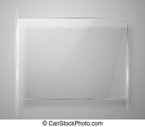 Glass framework. Vector illustration. Eps10 - Glass...