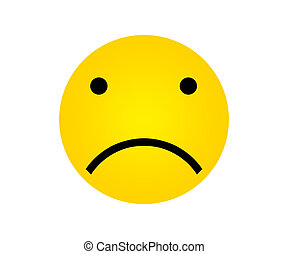 Yellow Face with Sad Expressions