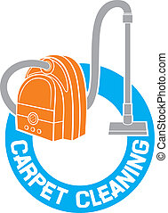 carpet cleaning service sign (carpet cleaning label)