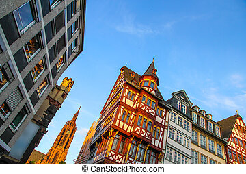 Historic center of Frankfurt - Historic center of Frankfurt...