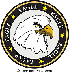 eagle coat of arms - coat of arms eagle with stars and...