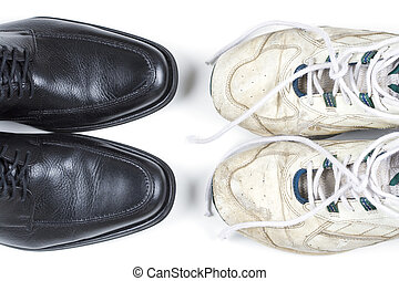 Business casual - Two pairs of shoes – new business...