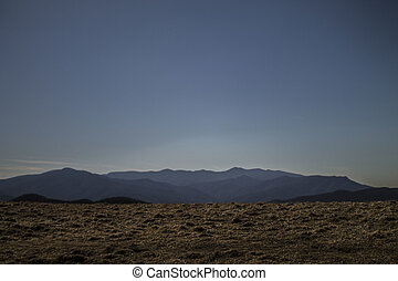 Great Smoky Mountains - A landscape shot of the Great Smoky...