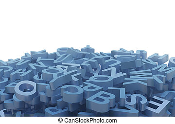 Letters stack