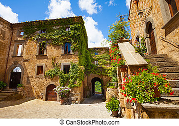 Gates of Bagnoregio - Main gates and buildings to Bagnoregio...