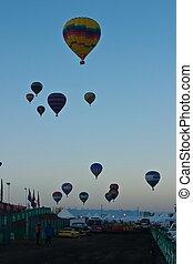 Albuquerque International Balloon Fiesta is a yearly balloon...