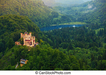 Lower castle of Schwangau - Lower castle in Neuschwanstein...