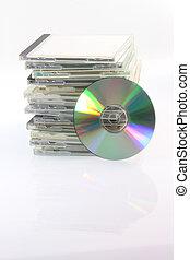 compacto, disco, casos