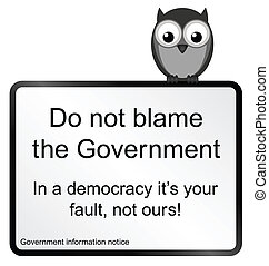 Government Blame