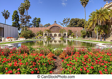 Botanical building in Balboa park. San Diego
