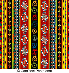 Various strips motifs design in colors