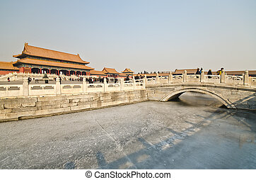 The Forbidden City was the Chinese imperial palace from the Ming Dynasty to the end of the Qing Dynasty