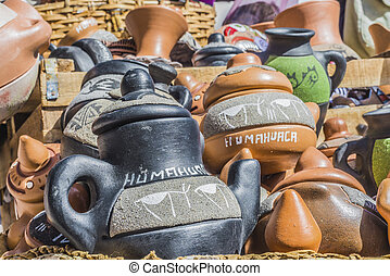 Crafts in Humahuaca in Jujuy Province, Argentina. - Crafts...