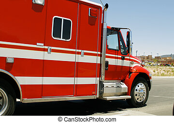 Emergency Vehicle  - Emergency Vehicle, EMT technician