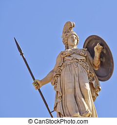 Athena the Greek goddess of wisdom and science - Athena the...
