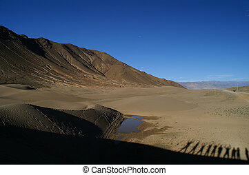 desert in Tibet