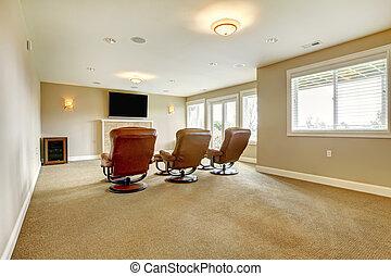 Home theatre interior