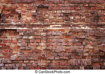brick wall as background