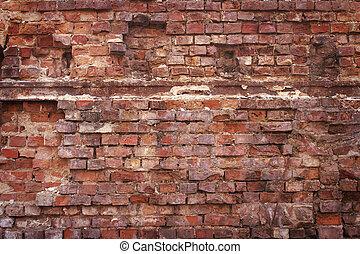 磚, 牆, 背景