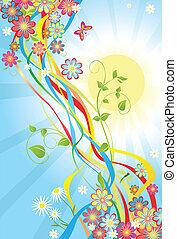 Summery banner