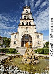 Church of the Assumption of Cangas de Onis, Asturias Spain