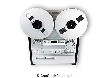 Old Audio Tape Recorder