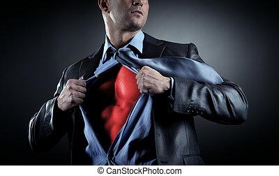 Succesful businessman - Attractive male businessman...