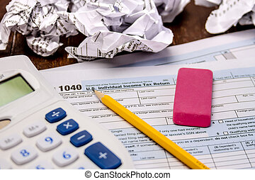 Filing Taxes and Tax Forms