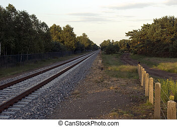 rail road - the rail road to the other place