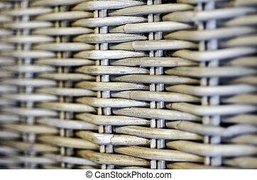 Wood weaving