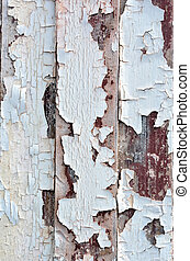 Chipped old paint background texture.Vertical